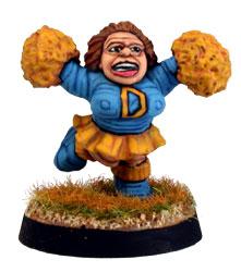 Demon contre empire Dwarf-cheerleader