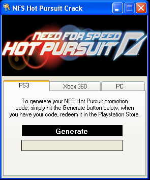 Nfs hot pursuit 2010 keygen generator.
