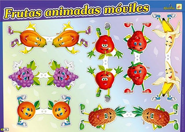 Imagenes animadas de frutas y verduras - Imagui