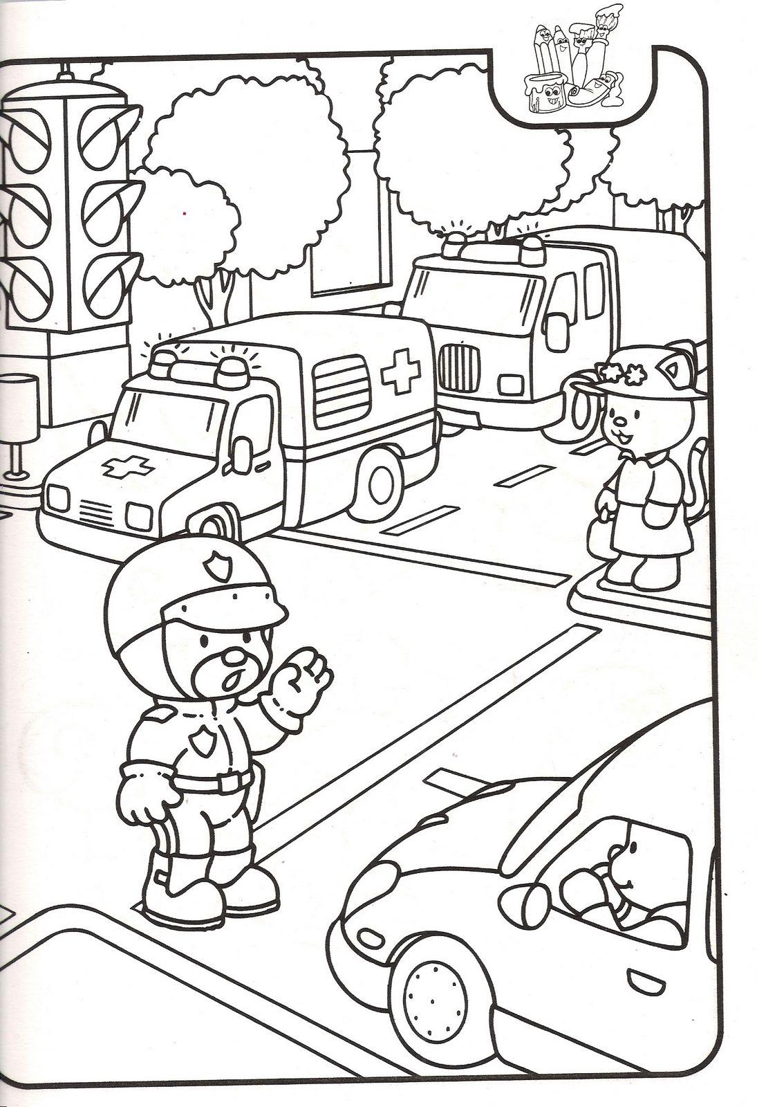 Dibujos de la comunidad rural y urbana - Imagui