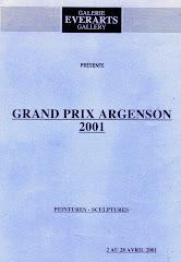 2001 - Exposition à la galerie Everarts à Paris