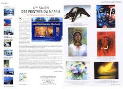 Presse 4ème Salon des Peintres du Marais