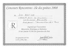 Concours de l'Île des poètes 2008