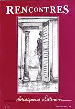 2009 - Rencontres Artistiques et Littéraires N° 113