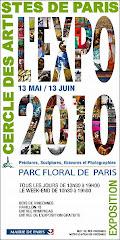 Le C.A.P. expose au Parc Floral de Paris