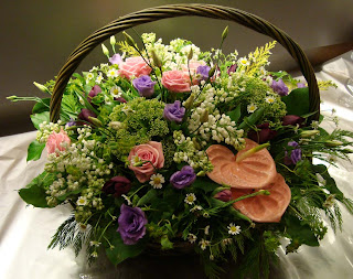 Корзина цветов.