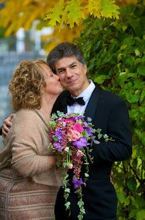 каскадный буке невесты