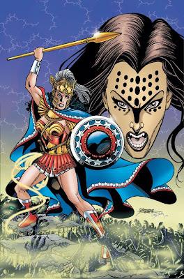 George Perez Wonder Woman Poster george perez wonder woman