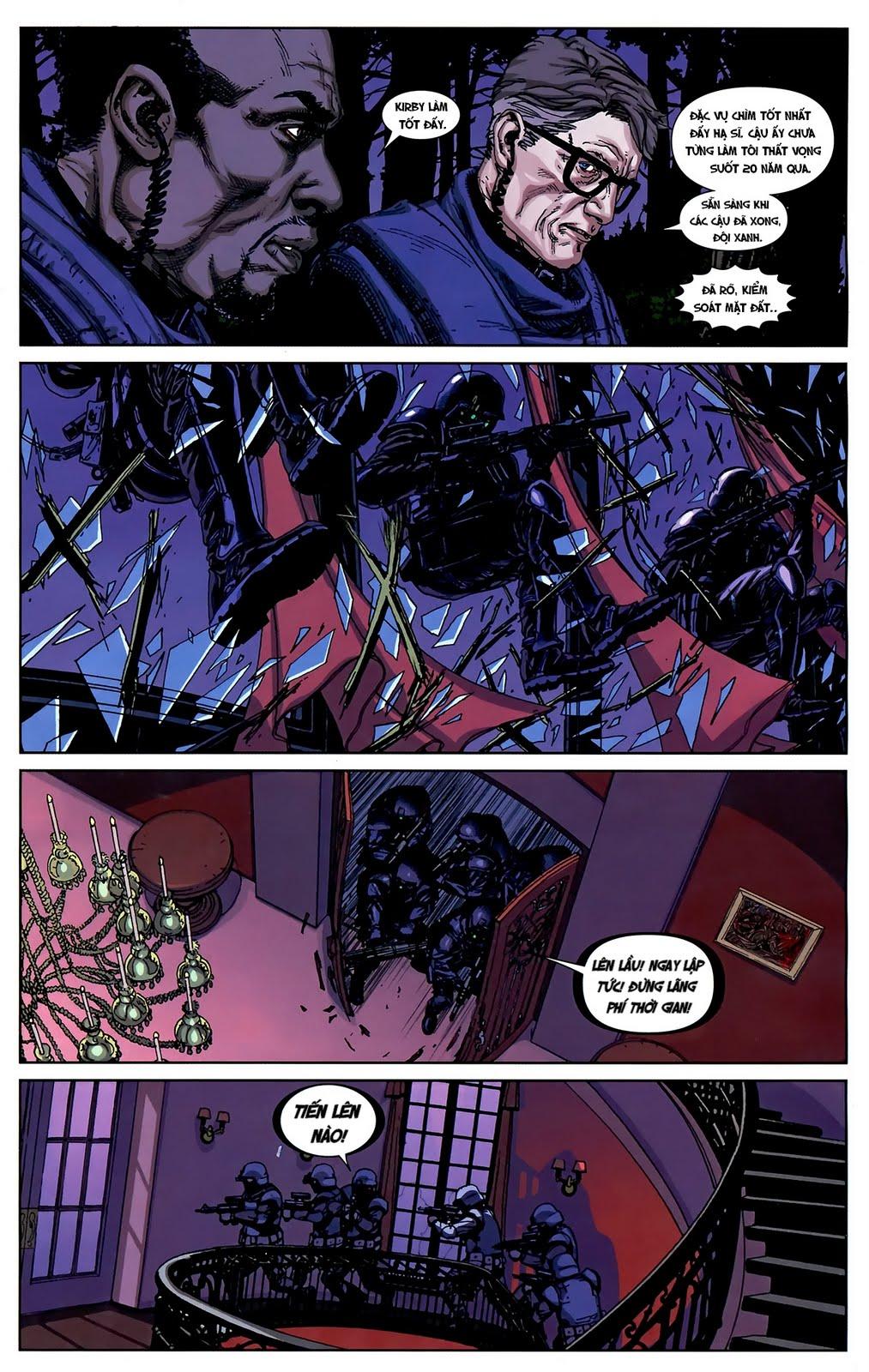 Nemesis chap 4 - Trang 8