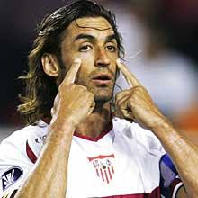 Javi Navarro nuestro super capitán, sucesor de Pablo Alfaro.