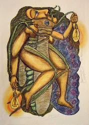 QUADRO DE MÁRIO RICARDO — VISITE O BLOG DO ARTISTA PLÁSTICO MÁRIO RICARDO (CLIQUE NA IMAGEM ABAIXO)