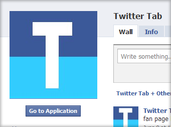 Twitter Tab for Facebook App