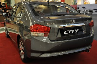 honda city rear