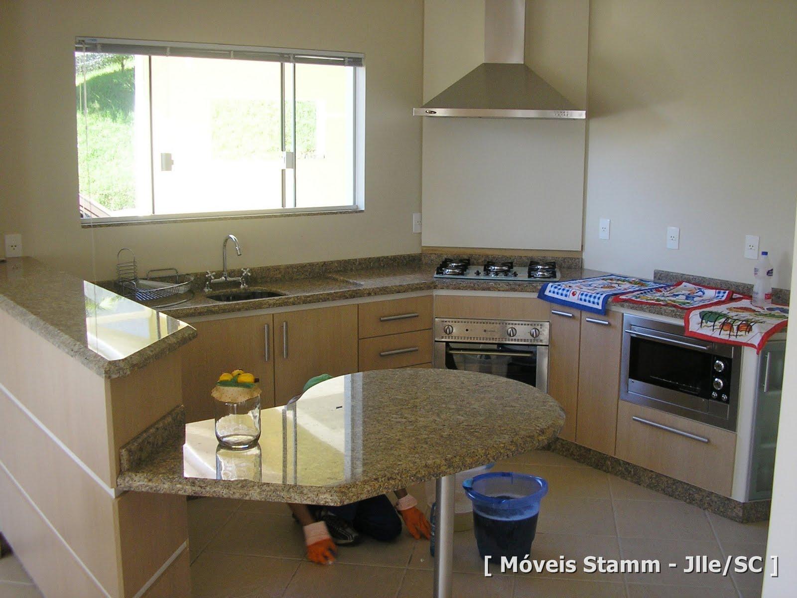 Móveis Stamm: Cozinha e Churrasqueira Romeu #604B30 1600 1200