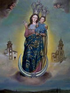 Virgen de las Nieves de Gabia.