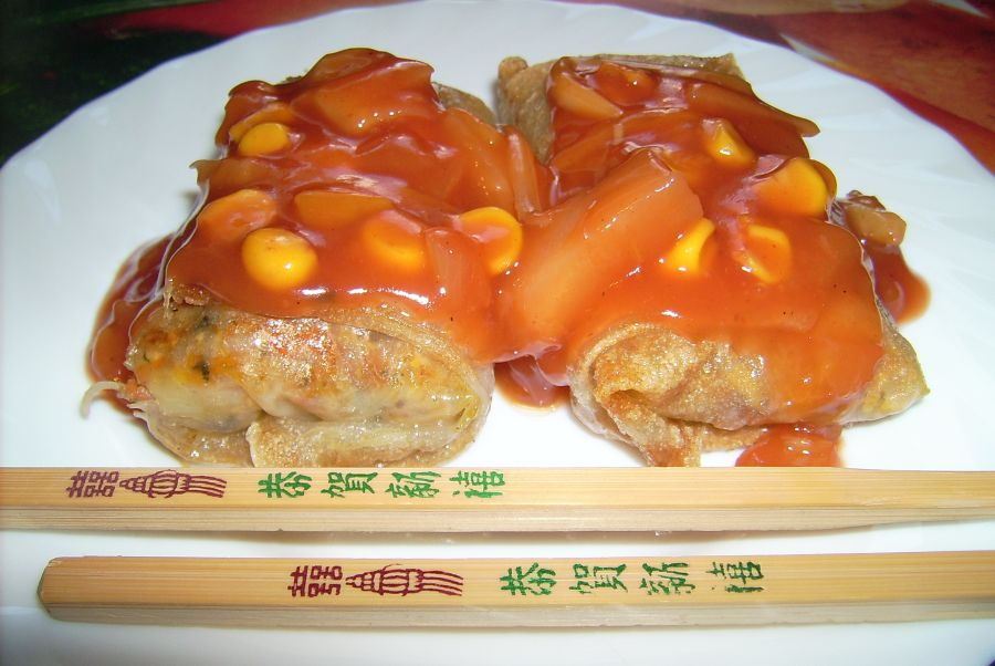 Moja Kuchnia Pachnąca Barszczem Sajgonki