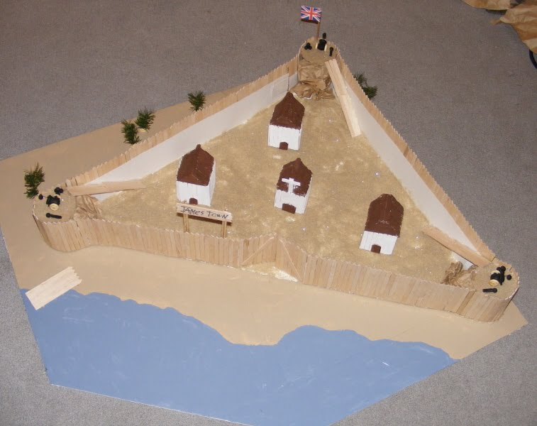 How to make a model fort from popsicle sticks easy