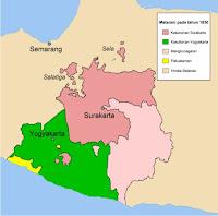 Peta Kerajaan Mataram