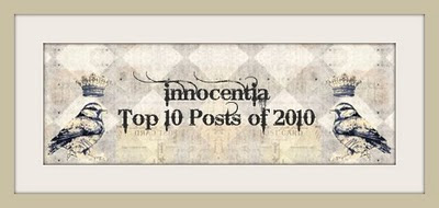 Innocentia Top 10 Post of 2010