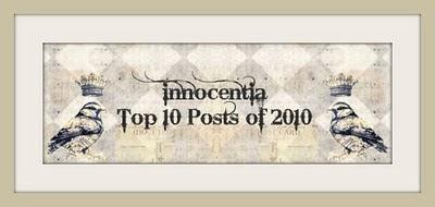 Innocentia Top 10 Post of 2010