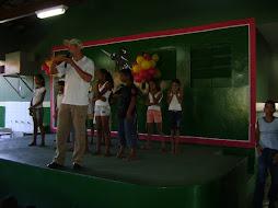Representante do Centro de Zoonose em paceria co o Mestra