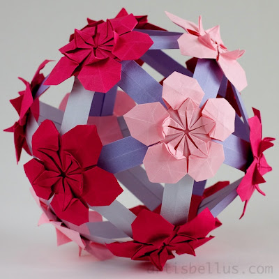 Pimpernels Ball - New Origami Modular