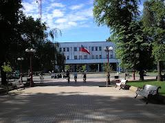 Gobernación Provincial de Ñuble desde Plaza de Armas Chillán