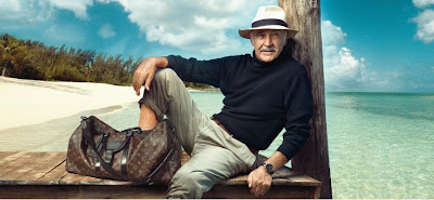 Sean Connery's Louis Vuitton Ad Campaign