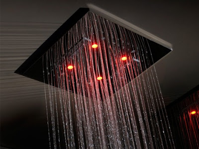 Luxury Multi-functional Rain Shower from Gessi