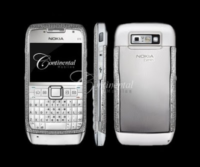 Nokia E71 Diamond studded
