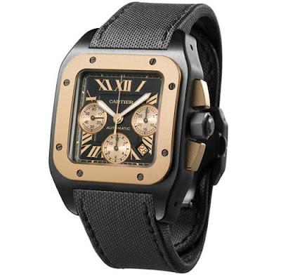 Cartier Santos 100 Chronograph