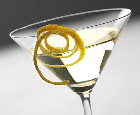 vodka martini up with a twist