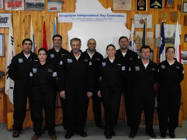 Dotación de la Campaña Antarkos XXV de la Base Científica Antártica Artigas