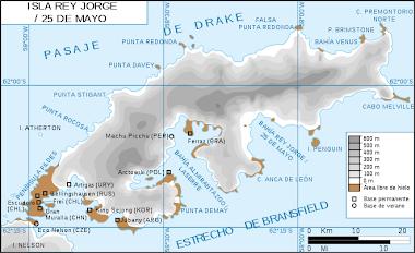 Isla Rey Jorge o 25 de Mayo