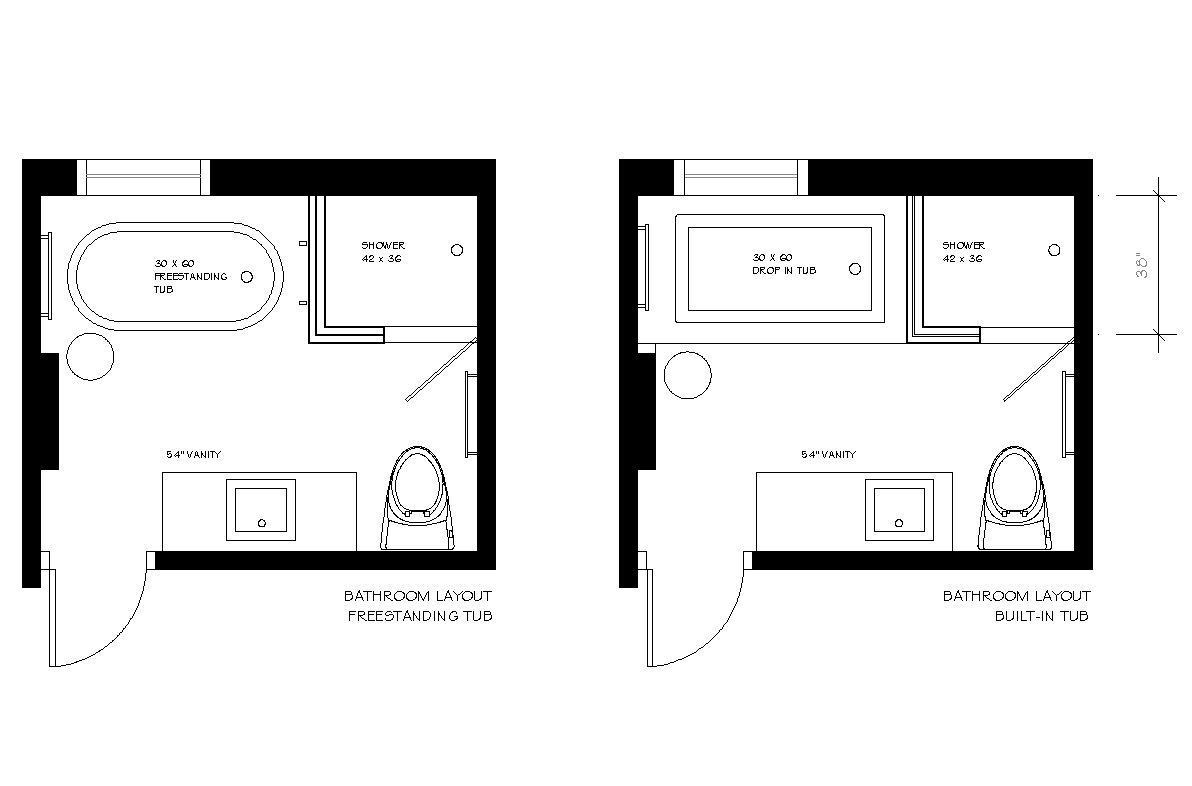 4 X 9 Bathroom Layout Designs