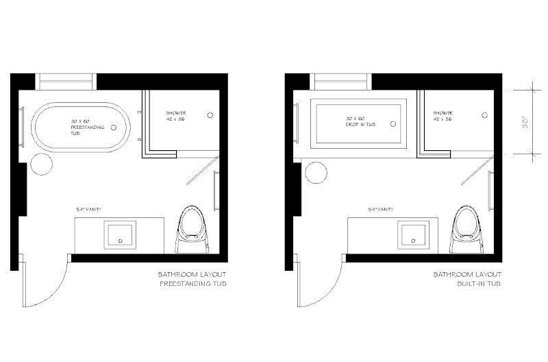 Before & After: E-Design Bathroom Project title=