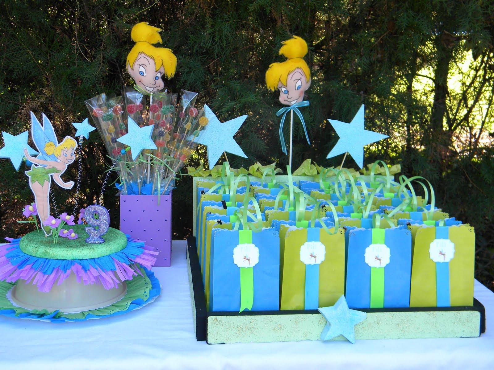 Adornos de tinkerbell para cumpleaños - Imagui