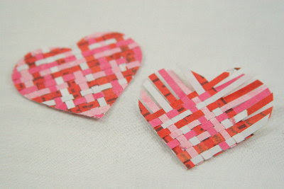 weaved hearts