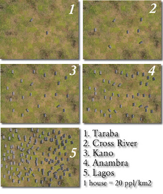 Population Perception 2006 Nigerian Census: CG Aerial Image