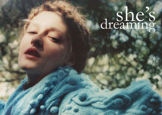 She's Dreaming...
