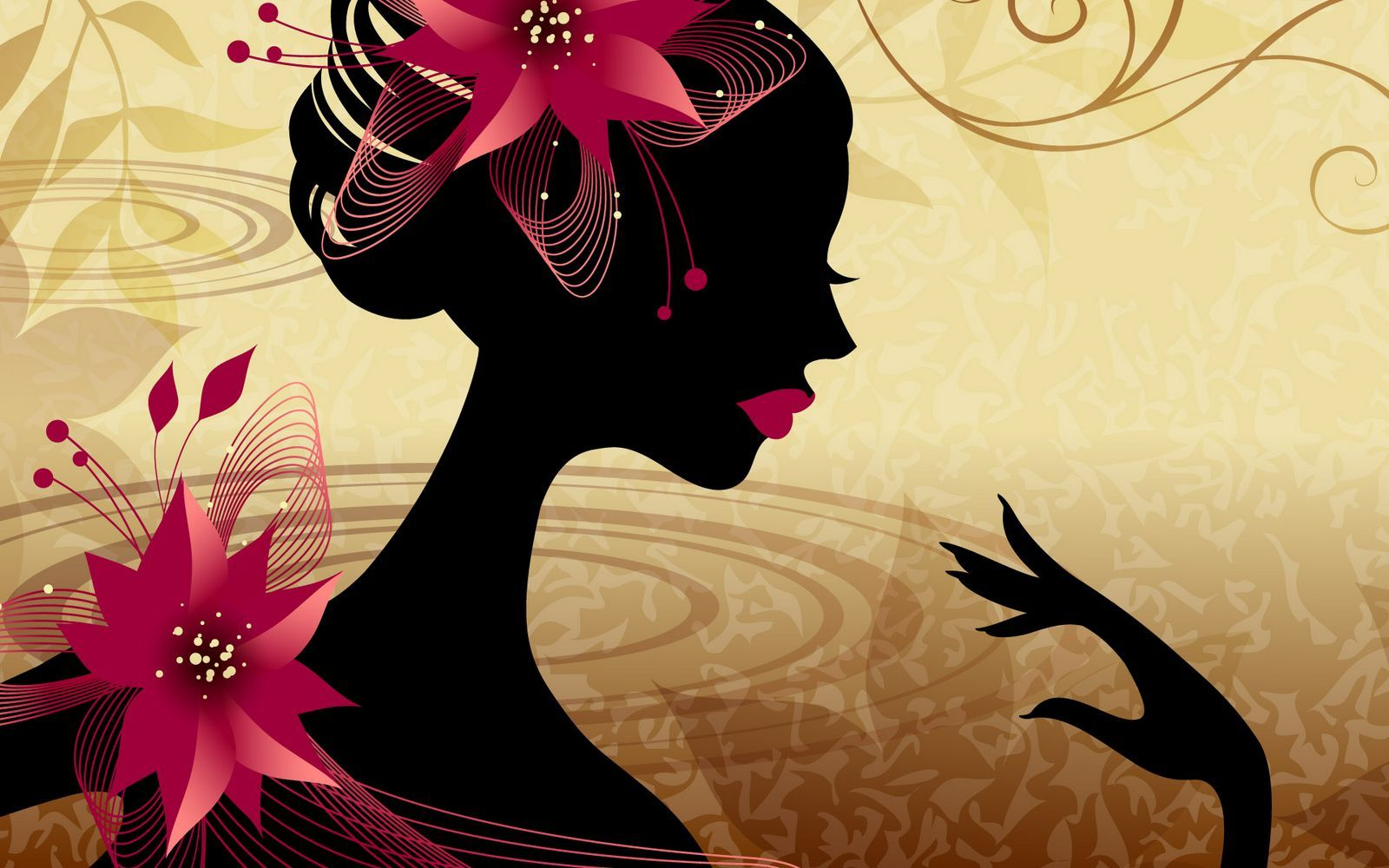 Illustrated Book Cover Vector : Vector girls illustrated wallpapers