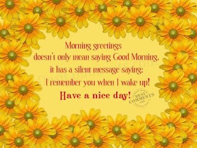 Good Morning Messages | Quotes Good Morning