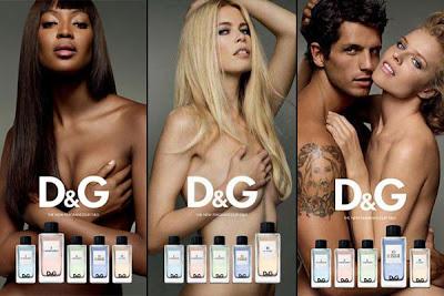 A nova linha de perfumes Dolce & Gabbana assume a peculiar forma das cartas ...