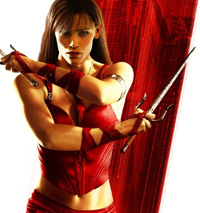 jennifer garner elektra wallpaper. jennifer garner alias hair.