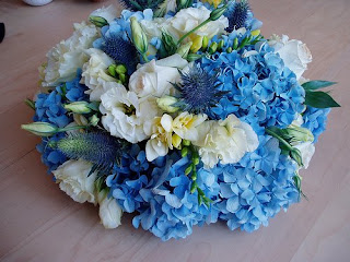 Engagement Decor Ideas Blue And White Theme