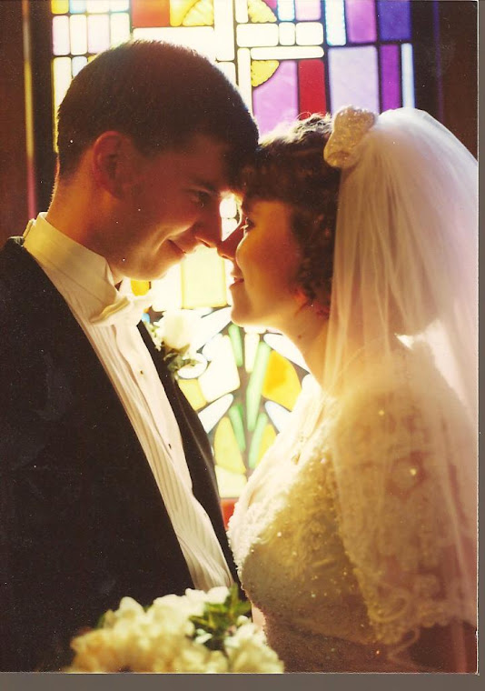 Our wedding day...2000