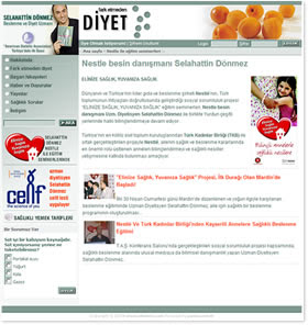 Uzman Diyetisyen Selahattin Dönmez'in Resmi Web sitesi