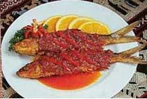 ikan bandeng bumbu bali masakan indonesia