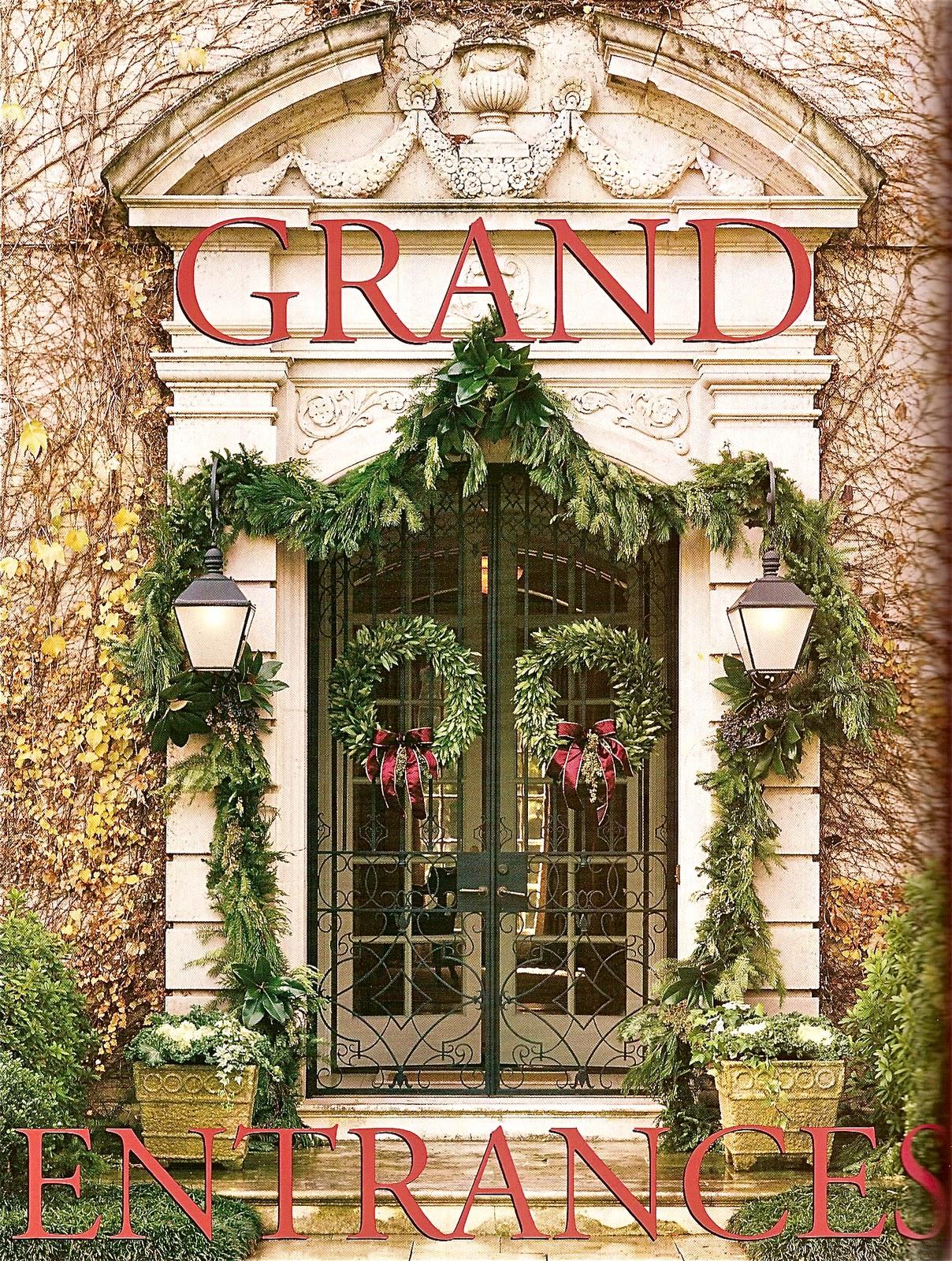 Grand entrances for Grand entrances