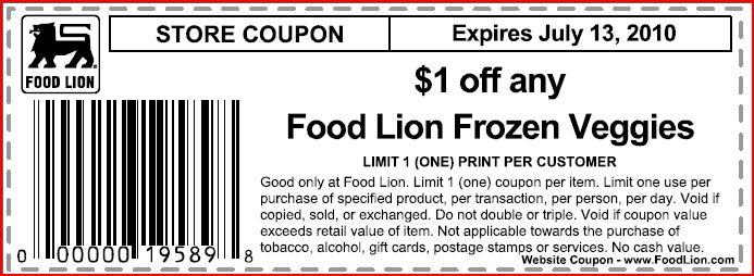 Food lion printable coupons
